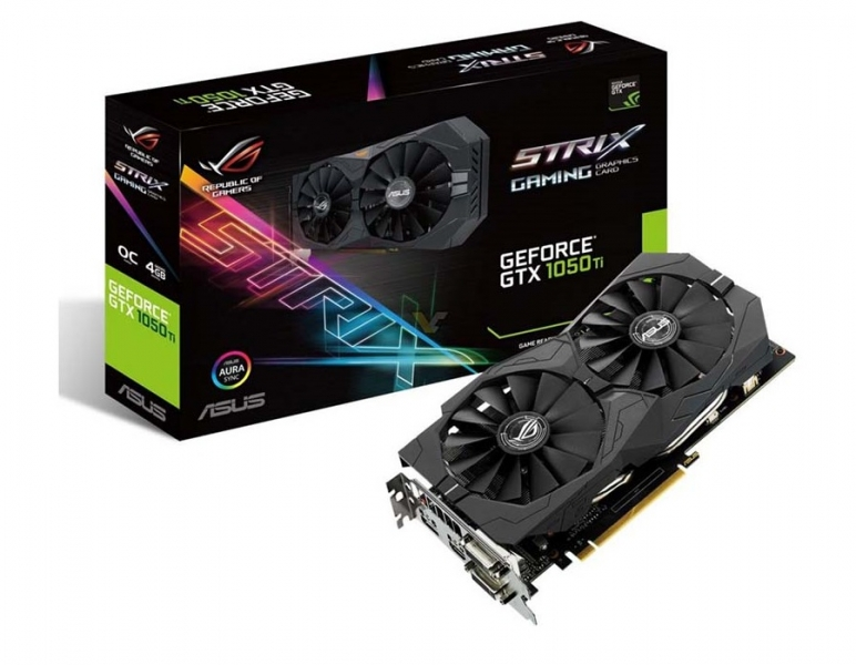 Asus 4GB Strix-GTX1050TI-04G-Gaming