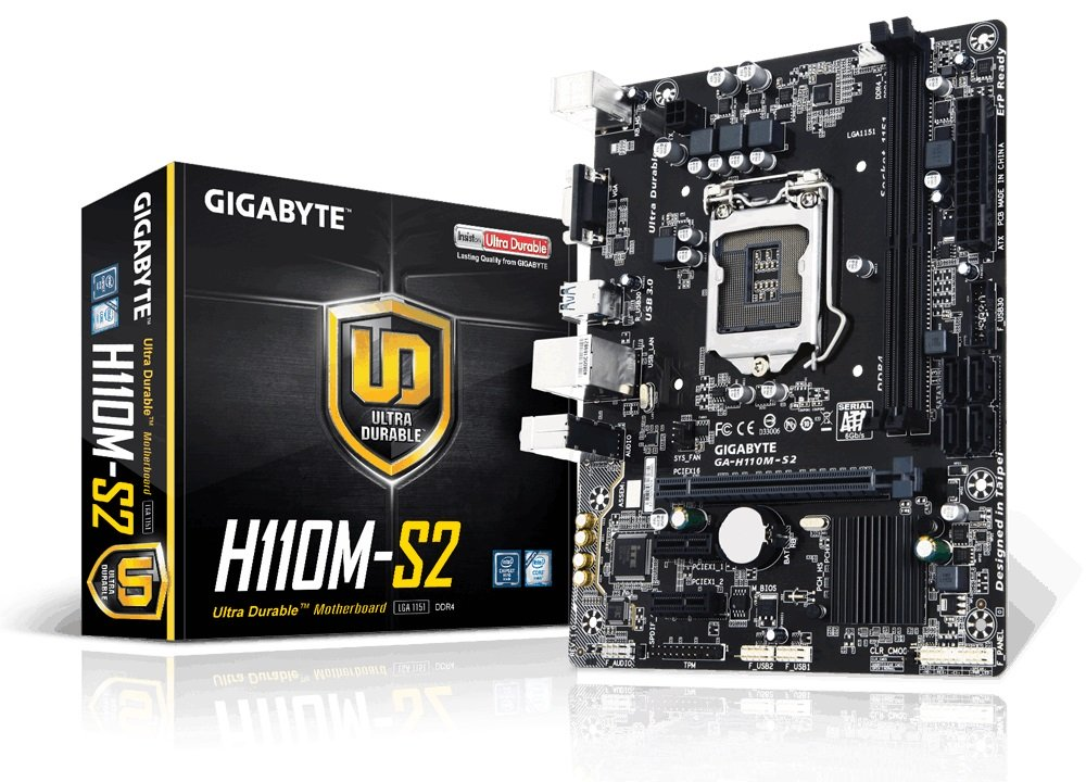 Mainboard Gigabyte H110M-S2PV DDR4