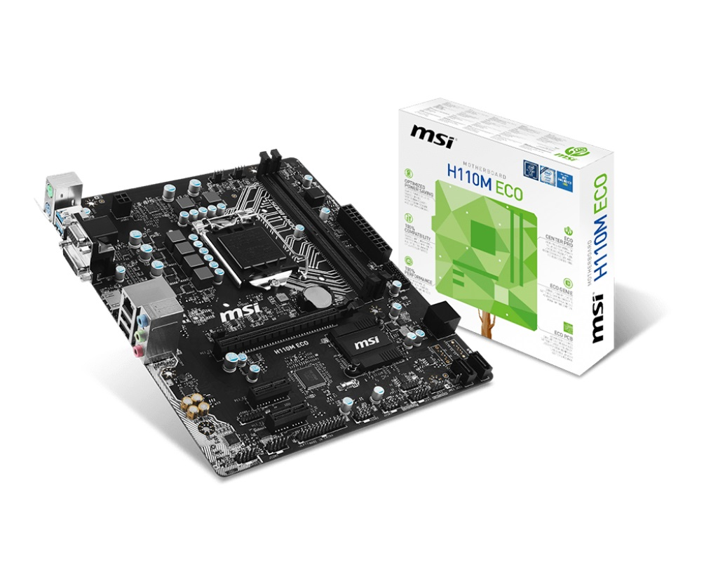 Mainboard MSI H110M ECO